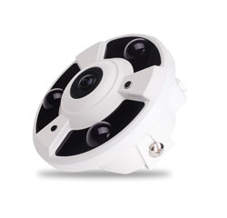 DF3 series IR dome 360 Deg FishEye IP camera