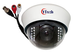 IDBA Series IR Dome Audio Camera