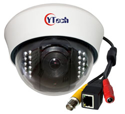 DAB series IR Dome Audio IP cameras