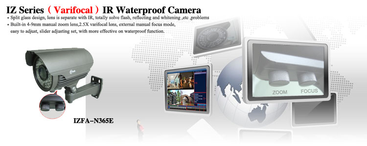 40M IR WaterProof Varifocal Camera